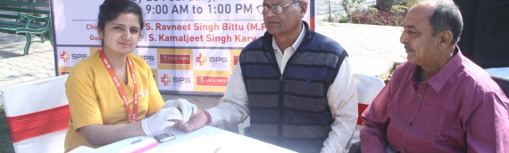 A Multi-specialty Medical Camp by SPS Hospitals, Ludhiana  on 25th Feb,2018