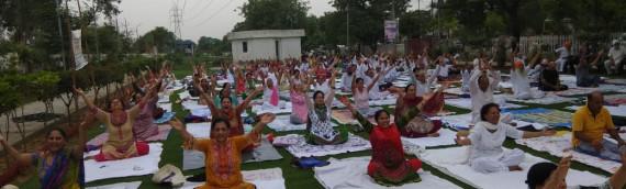 Celebration of International Yoga Day on 21st June, 2018